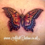 Butterfly tattoo huddersfield